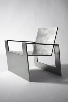 #NosGusta #NosInspira Forrest Myers, Manifold, stainless steel chair (edition of 8),