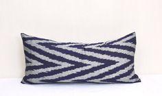 Chevron Long Ikat pillow coverDecorative 100 von EasternHomeDecor, $20.00