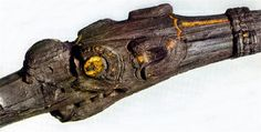 Dragon Headed Steering oar attachment from the Gokstad Viking Ship 9th Century CE. Gokstad, Norway