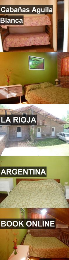 Hotel Cabañas Aguila Blanca in La Rioja, Argentina. For more information, photos, reviews and best prices please follow the link. #Argentina #LaRioja #travel #vacation #hotel