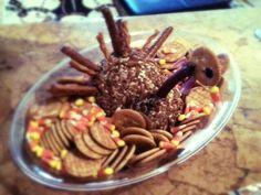 My cheeseball turkey