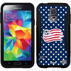 New England Revolution Polka Dots Design on OtterBox Commuter Series Case for Samsung Galaxy S5
