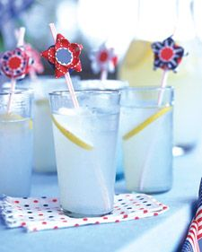Red, White, and Blue Ribbon Stars - Martha Stewart Crafts #PerfectWedding