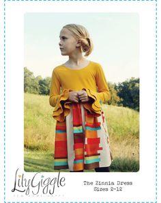 The Zinnia Dress de Lily Giggle de 2 à 12 ans