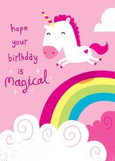 Resultado de imagen para happy birthday with unicorns
