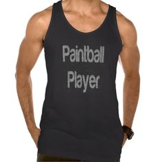 Paintball Player Extraordinaire American Apparel Fine Jersey Tank Top Tank Tops