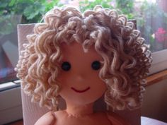 Crochet Hair You Can Get Wet : cabelo cacheado more dolls curly hair tutorials amigurumi doll hair ...
