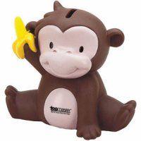 Imprinted Mischief Monkey Bank