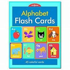 Eeboo Children Create a Story & Flash Cards - Alphabet Flash Cards