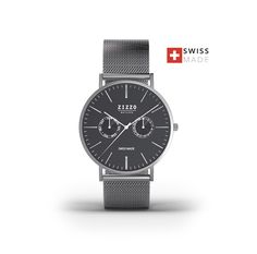100% sapphire crystal - 3 years warranty - all stainlesssteel - SWISS MADE!