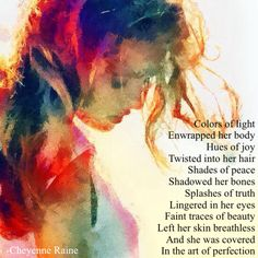 bright colors poem poetry
