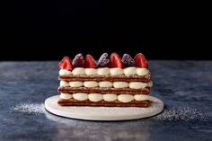 Strawberries and Cream Mille-Feuille recipe on Food52