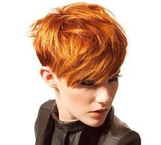 Heute tragen wir ROT! Die Farbe …, genau … Deiner Frisur! - Neue Frisur