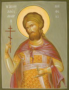 St Alexander Nevsky www.ikonographics.net