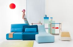 fashion and furniture design can be integrated to bring contemporary yet fluent elements to your pad