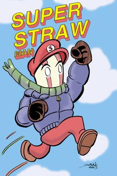 Super Straw Man by strawmancomics on DeviantArt