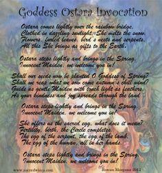 Goddess Ostara Invocation