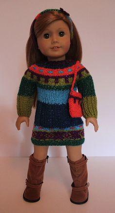 Knitted Dress Purse Head Band