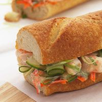 Shrimp Banh Mi - #healthy