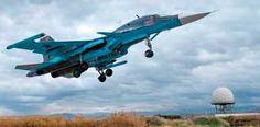 Los 70 cazas ruso Su-34 son decisivos en la lucha contra el terrorismo en Siria. (www.dw.com)