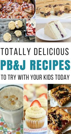 These 25 Totally Delicious PB&J Recipes are perfect for busy moms getting ready for back to school! They're yummy and simple to make! Best Dessert Recipes, Fun Desserts, Breakfast Recipes, Crockpot Recipes, Cooking Recipes, Cooking Ideas, Pb And J Recipe, Easy Family Dinners, Cooking For One