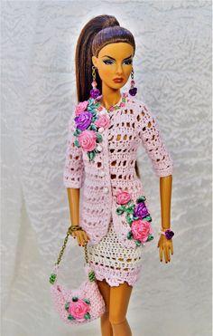 Jacket, skirt, bag jewelry for Fashion Royalty, Poppy Parker, FR2, Barbie | eBay