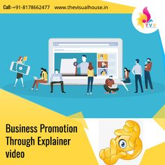 Explainer videos explain your business, products, or services to your ideal customer in the form of a short, easy-to-digest cartoon or animation. Moving Text, Online Marketing Strategies, Video Capture, Business Products, Ways To Communicate, Video Production, Video New, Promote Your Business, Still Image