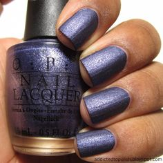 OPI Ink Suede | Addicted to Polish
