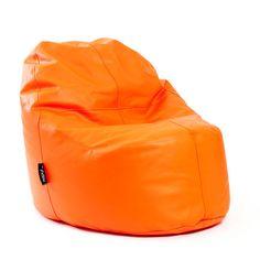 puf lounge polipiel naranja