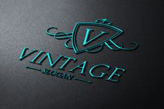 Check out Vintage Logo by samedia on Creative Market