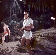 "Elvis worked with ""Blue Hawaii"" director Norman Taurog on eight other movies: ""G.I. Blues,"" ""Tickle Me,"" ""Spinout,"" ""It Happened at the World's Fair,"" ""Double Trouble,"" ""Speedway,"" ""Live a Little, Love a Little"" and ""Girls! Girls! Girls!"""