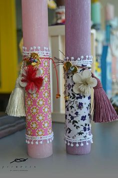 Orthodox Easter, Easter Crafts, Easter Ideas, Palm Sunday, Candels, Happy Easter, Projects To Try, Card Making, Gift Wrapping