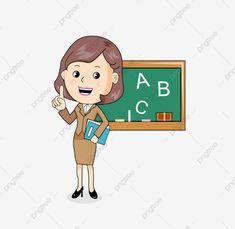 Darmowe Obrazki Bez Praw Autorskich - Obrazki Gallery Student Cartoon, Teacher Cartoon, Happy Teachers Day, Copywriter, Teachers' Day, Blackboards, Prints For Sale, Textbook, Teacher Gifts