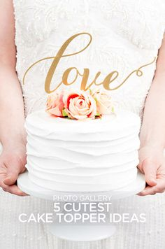Wedding cake toppers are that extra something special that can make your cake stand apart from the crowd. Indulge your sweet tooth with these best of wedding cake toppers.