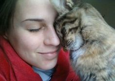 Did you know... Cats have the cognitive ability to sense a human's feelings and overall mood.