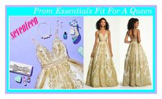"""Prom Essentials Fit For A Queen!"" by camillelavie ❤ liked on Polyvore featuring Camille la Vie"