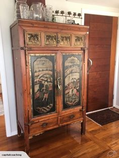 Original 1920s Chinese cabinet brought at auction 5 years ago.