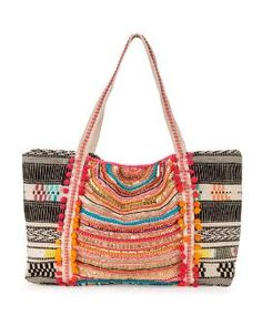 Enshrine Handwoven Jute Tote-30% off Accessories-Jewelry & Accessories-Sale   Stein Mart Action Bible, One Upper, Lipstick Holder, Tropical Colors, Handbag Accessories, Jewelry Accessories, Handbags Online, Beautiful Bags, Tote Handbags