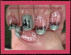 Nail Stamp Design (Konad plates m25, m36, m57)