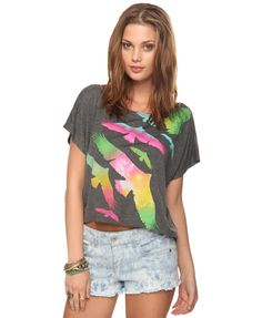 Bird Graphic Top