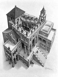 "Escher's ""Ascending and Descending"""