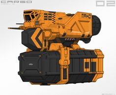 ArtStation - Cargo Spaceship Sketches + Studies, Ben Mauro