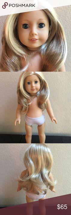 "Pair of American Girl Silver Cactus Flower /""Meet/"" Earrings From 18/"" Saige Doll"