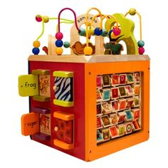 Julia's daycare has one of these and she LOVES it.  I wish I had one for her at home.  A bit pricey ($54) , but very cool.