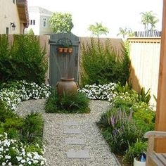 Small backyard garden from zero Houzz. Could take care of that! Pretty
