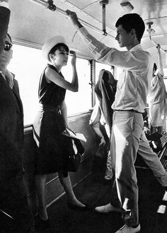 Audrey Hepburn and Anthony Perkins, ca 1961.