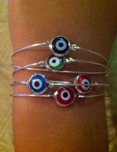 Evil eye bangle