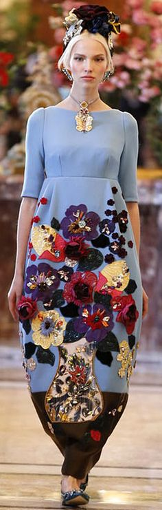❀ Flower Maiden Fantasy ❀ beautiful photography of women and flowers - Dolce & Gabbana 2014
