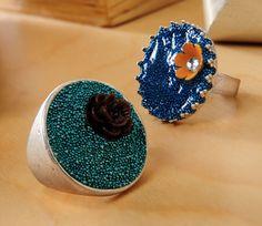 Make your own Dimensional Magic bead rings. ~ Mod Podge Rocks!
