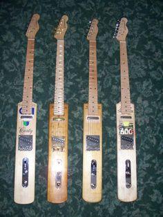 Cricket Bat Guitars! http://www.cricketbatguitar.com/